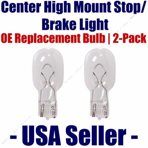 Center High Mount Stop//Brake Bulb 2 pack fits Listed Isuzu Vehicles 912