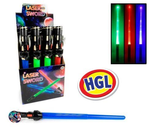 Extendable Retractable Laser Sword Toy Sound /& Light Action Light sabre 3 Colour
