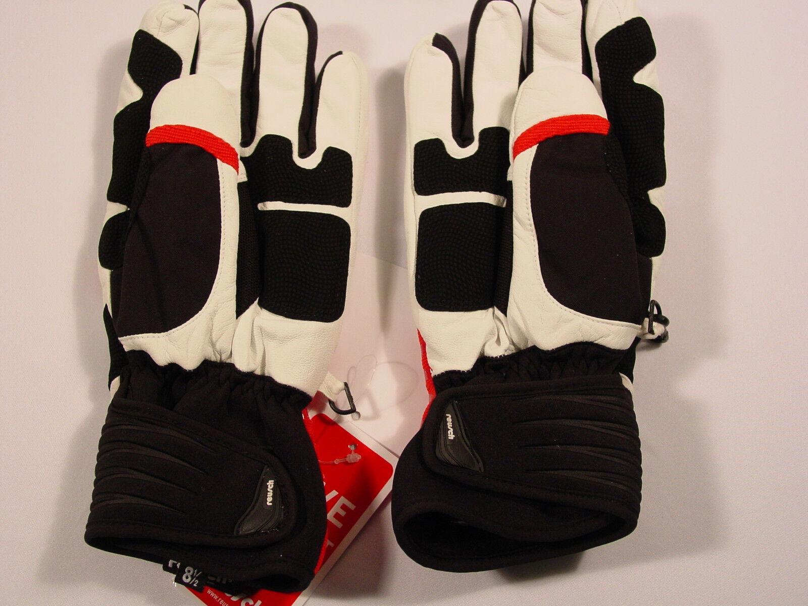 New Reusch RtexXT Goatskin Leder Ski Gloves Medium Medium Gloves (8.5) Crislallo  2887207 719d5d