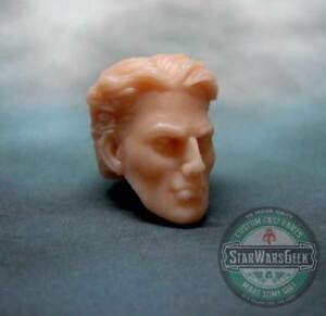 ML021-Quicksiliver-Custom-Sculpt-Cast-head-use-w-6-034-Marvel-Legends