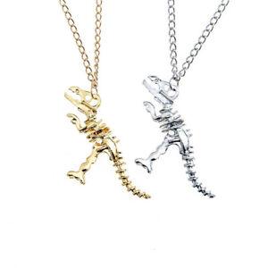 Uk dinosaur t rex skeleton pendant necklace jewellery gift idea goth la imagen se est cargando reino unido dinosaurio t rex esqueleto colgante collar aloadofball Images