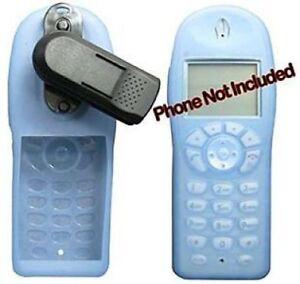 Spectralink Polycom Netlink 6020 8020 Cordless Phone Case Holster Clip Blue NEW