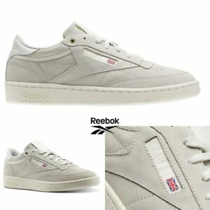 abbfca24830 Reebok Classic CLUB C 85 MCC Shoes Sneakers Beige Grey CM9296 SZ 4 ...