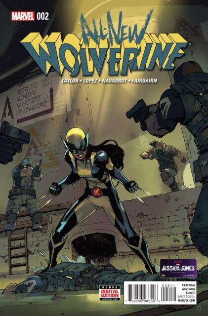 (2016) All New Wolverine #2 1st Gabby Honey Badger 1st Print! X-23