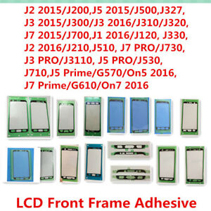 20x-for-Samsung-J2-J3-J5-J7-J327-J730-Front-LCD-Frame-Adhesive-Sticker-Glue-Tape