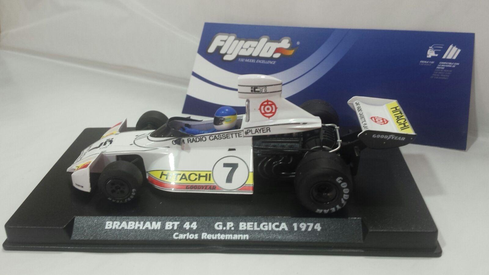 Flyslot brabham bt44 gp belgica 1974 - carlos reuteman - neu