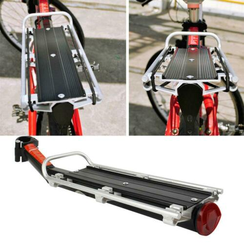 Bicycle Rack Bike Luggage Carrier Rear Racks Reflector Shelf Cycling Seat Stand