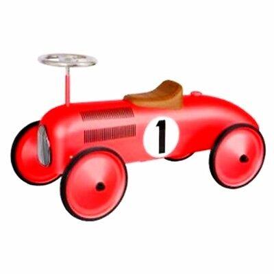 Formel 1 rot Rutschauto Bobbycar Rutscher Kinder Metall Auto Rutschfahrzeug PKW