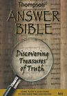 Thompson Answer Bible-NIV: Discovering Treasures of Truth by Kirkbride Bible Company (Hardback, 2010)