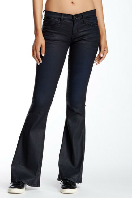 new season best place for wholesale sales Women's Current Elliot The Low Bell Bottom Coated Jeans RPM NEW 26 28