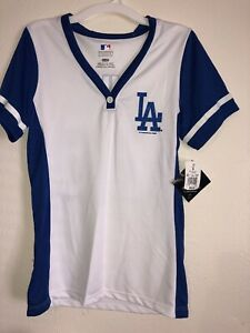 Details about MLB Genuine Merchandise Los Angeles Dodgers Shirt Women's 66  Puig Size S NWT