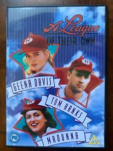 A-League-of-Their-Own-DVD-1992-Female-Baseball-Team-Movie-w-Tom-Hanks-Madonna