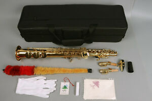 Yinfente-Soprano-Saxophone-Sax-Mouthpiece-2-Sax-neck-Advance-Straight
