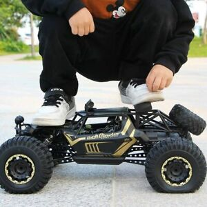 Xycq-RC-coche-4WD-control-remoto-de-vehiculo-2-4Ghz-Electrico-Monster-Buggy-Off-Road