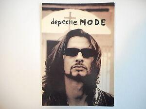 CARTE-POSTALE-DEPECHE-MODE-CONDEMNATION-Postcard