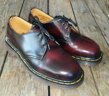 New Vintage Dr Martens Rare Oxblood Marbled Shoes Made in England UK 6 US 8