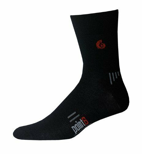 Large or X-Large New Point6 Cycling Ultra Light 3//4 Crew Merino Wool Socks