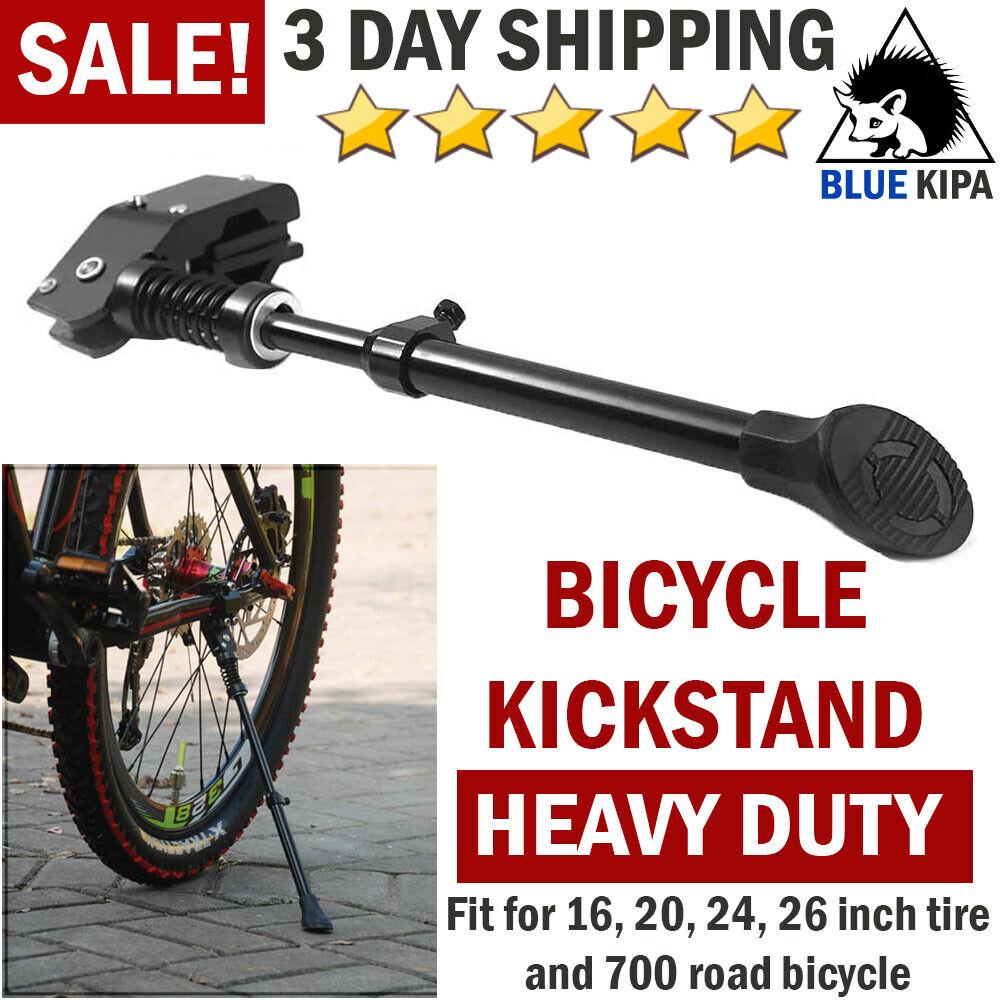 Adjustable Carbon Fiber Road Bike Bicycle Side Kickstand Kick Stand Durable