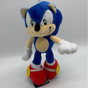 Sonic The Hedgehog Plush Soft Toy Doll Stuffed Animal Teddy 11 Ebay
