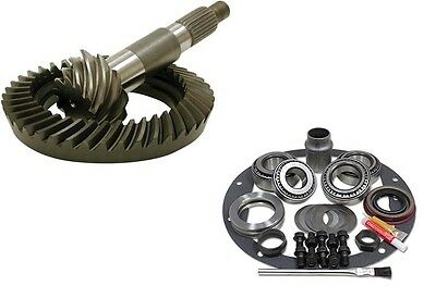 """1972-1998 GM CHEVY 8.5""""- 4.56 USA RING AND PINION - MASTER INSTALL - GEAR PKG"""