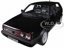 1990 VOLKSWAGEN GOLF GTI G60 BLACK 1/18 DIECAST MODEL CAR BY NOREV 188444
