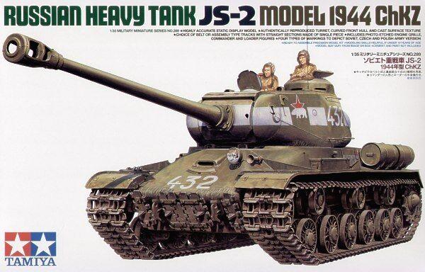 Tamiya 1 35 Js-2 Modello 1944 Chkz  35289