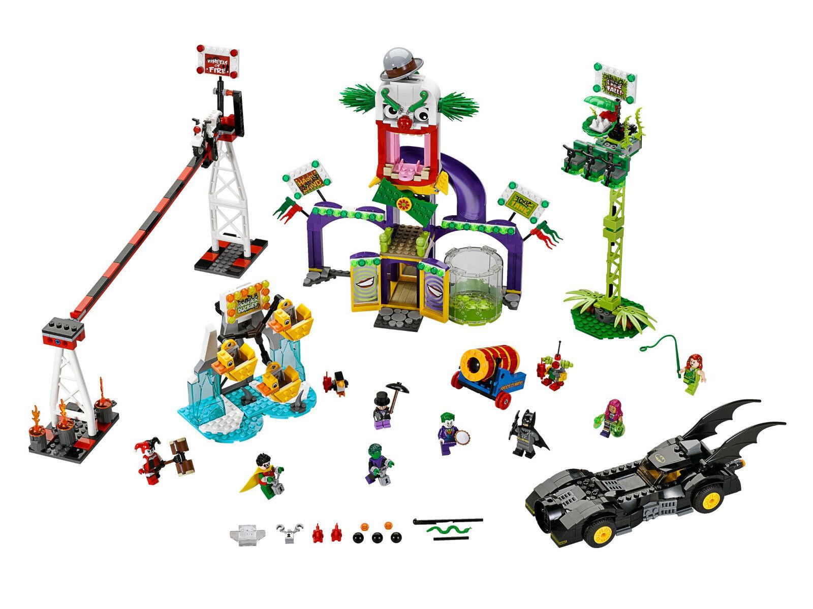 LEGO Super Heroes 76035 - Joker Land / Jokerland Jokerland Jokerland - Batman Harley Poison Ivy DC 8d8811