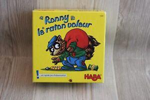 Jeu de rapidité et d'observation HABA Ronny le raton voleur