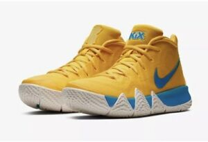 pretty nice cdac1 3dd72 Details about Kyrie 4 Cereal Pack Kix size:9 Sold Out Instantly  Yellow/white/blue