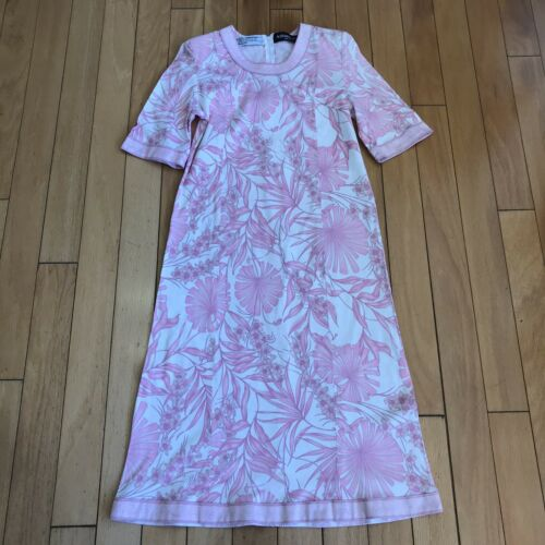 Averardo Bessi Vintage Floral Dress size 8 Made in