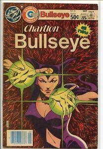 Charlton-Bullseye-1981-series-3-very-good-comic-book