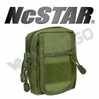VISM NcSTAR Tactical Accessory MOLLE PALS Small Utility Storage Tool Pouch Green