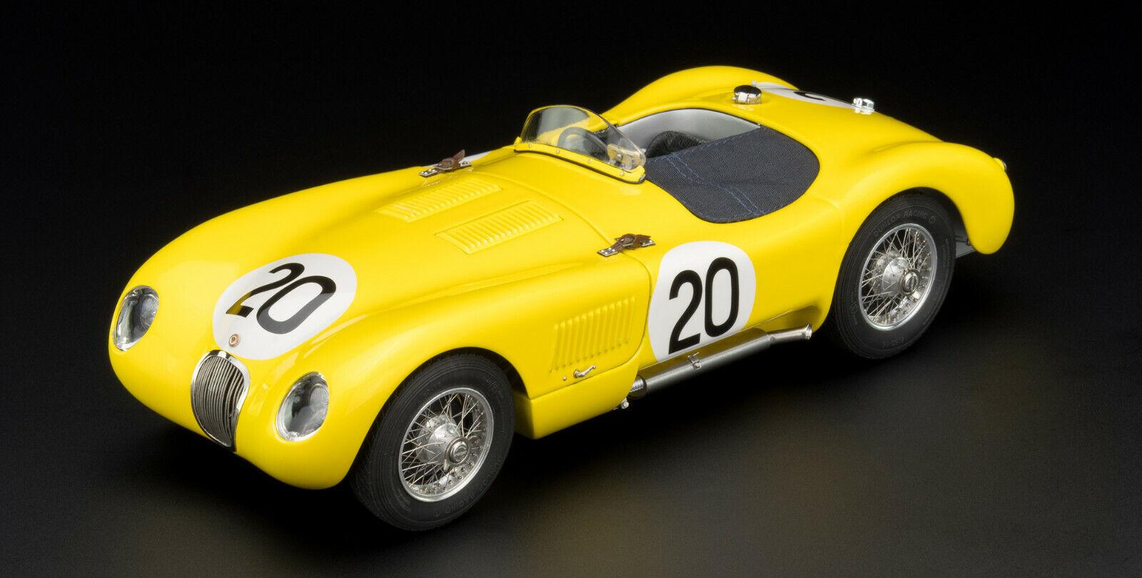 Jaguar C-type  20 24 H Le Mans 1953 Laurent DE TORNACO CMC m-194 le 1.000 neu&ovp