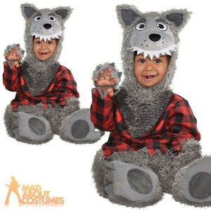 amscan Baby Wolf Infant Costume