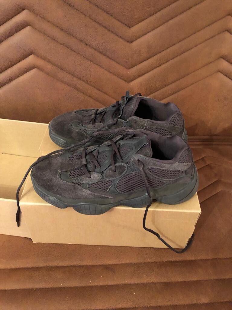 8b034f835 Yeezy Utility Black Size 9 AUTHENTIC F36640 500 Adidas ...