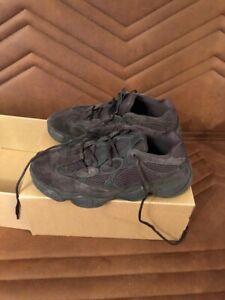 0dd664b7e Image is loading Adidas-Yeezy-500-Utility-Black-Size-9-AUTHENTIC-