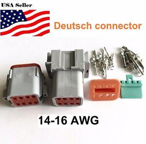 8-Pin-Deutsch-DT08-Engine-Gearbox-waterproof-electrical-connector