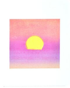 Andy Warhol Sunset (Lavender) Poster Kunstdruck Bild 36x28cm
