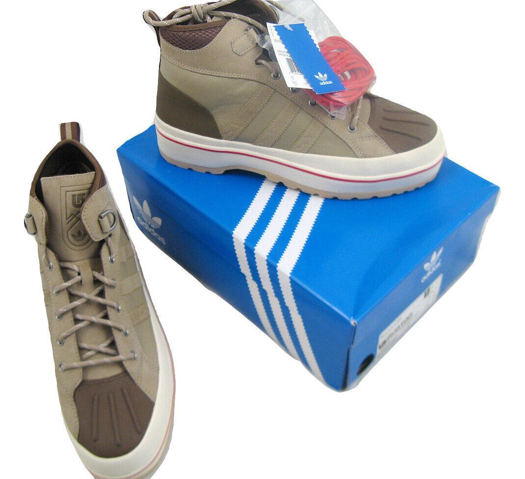 NEW  Burton & Adidas Winterball Hi KZK shoes  US 8.5 D 8 JAPAN 265  TAN