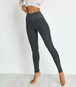 Alo Yoga High Waist Lounge Leggings Dark Heather Grey Size Xs Ebay