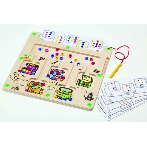 Sensory Wooden Play Think Board