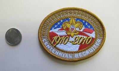 BSA Boy Scout Centennial 1910-2010 Recruiter Patch Cub Scout