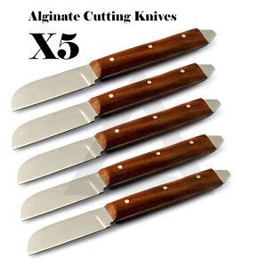 Dental-Alginate-Plaster-Knives-Wax-amp-Modeling-Art-Craft-Making-Cutting-Knife-CE