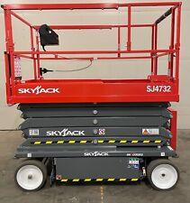 Brand New 2021 Skyjack Sj4732 32 Ft Electric Scissor Lift 5 Year Warranty
