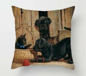 dog-puppy-picture-cartoon-CUSHION-COVER-45x45-CMblack-lab-labrador