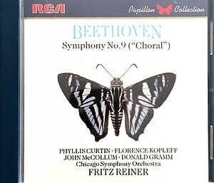 Beethoven-CD-Symphony-N-9-034-Choral-034-Curtin-Kopleff-McCollum-Gramm