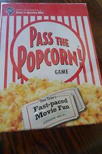 PASS THE POPCORN GAME FAST PACED MOVIE FUN GAME NEW 2-8  PLAYERS PRIORITY MAIL