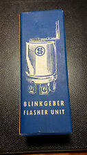 STRIBEL Blinkgeber Flasher Unit, neu new, SBG 220 6 Volt 2x18 W Oldtimer