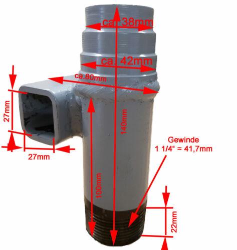 11m Brunnenbau-Set zum fördern von Grundwasser  /_-=-/_  Brunnenbohrer Erdbohrer