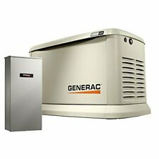 Generac 7224 Home Standby Generator 14kw14kw Air Cooled With Whole House 100